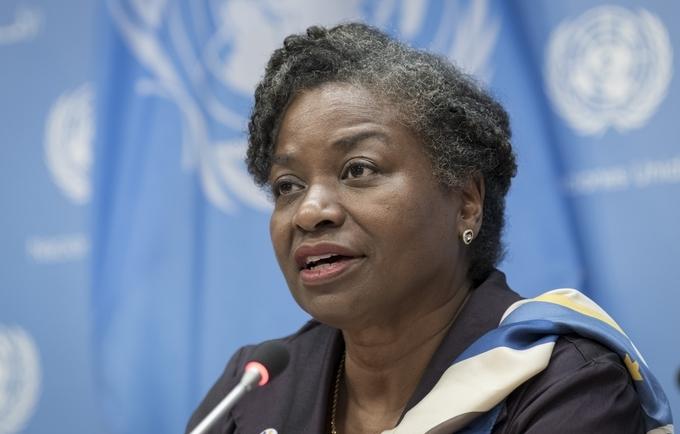 UNFPA Executive Director, Dr. Natalia Kanem