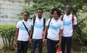 Youth advocates in Freetown ©UNFPASierraLeone/2018/Reid