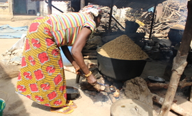 Rural woman in Tombo Walla, Kambia district. © UNFPA Sierra Leone 2018/Angelique Reid